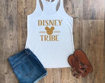 Disney Tribe Tank Top | Womens Tank Top | Disney Tribe | Disney Tank Tops | Disney Shirts | Womens Graphic Tee | Disney Shirts for Women