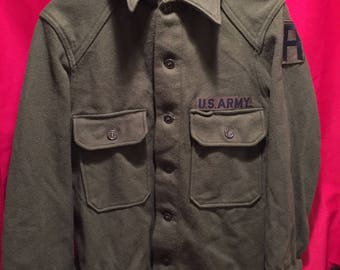 U.S Army 1950's Wool Field Shirt