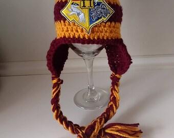 Harry Potter Crochet Hat
