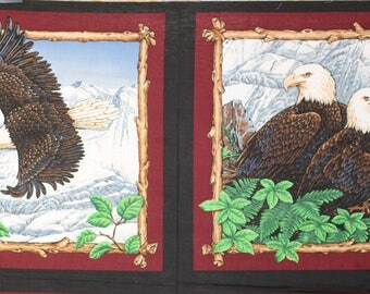 American eagle pillow panels.