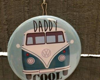 """Porte-clés Décapsuleur message spécial """"daddy cool"""""""