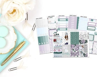 Cozy Winter Collection-Happy Planner Stickers