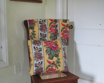 French Country Valances and Pillow Set