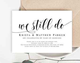 template for an invitation