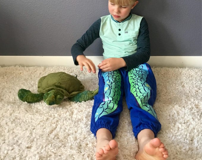 Featured listing image: Sea Turtle Pants, Kids Sweatpants, Kids Joggers, Wild Kratts, Cute Kids Clothes, Kids Christmas gift, Sea Turtle Print