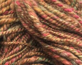 Autumn in Tuscany - Hand Spun, Hand Dyed Alpaca Yarn