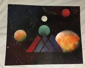 Destiny 2 orbit/directory map spray paint art