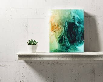 SPRING SERIES #2016, Artist-Signed, Abstract Giclee Wall Art Print, Modern Home Decor, Contemporary Art, Acrylic Painting