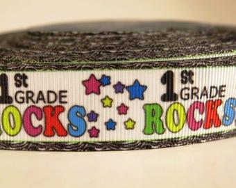 1st Grade Rocks Lanyard
