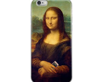 Funny quirky iPhone case, humorous gift for the comic in your life