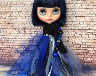 Takara original Blythe Pretty Peony, Blythe custom doll, Blythe doll ooak, collectible doll, custom Blythe
