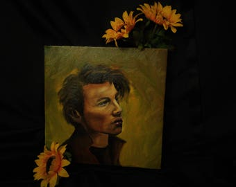 Canvas Painting of Man
