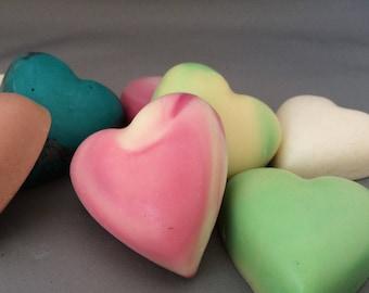 Heart shape Guest Soap.