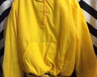 Retro Pullover Basic Baseball Jacket 3/4 Zip