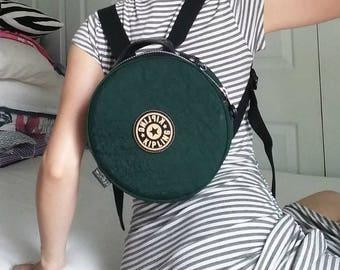 Circular Kipling Backpack, Mini Backpack, Vintage Backpack