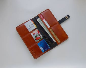 Leather wallet Daily Ginger