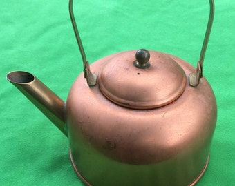 Vintage Teapot/Kettle by the Coppercraft Guild of Taunton, Mass.