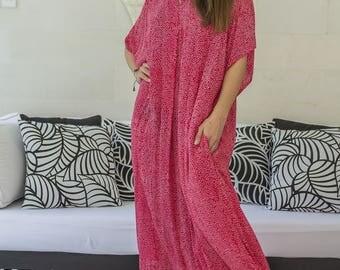 Niko Kaftan Dress, Caftan, Loose Dress, Tunic, Beach Coverups, Loungewear, 121-126