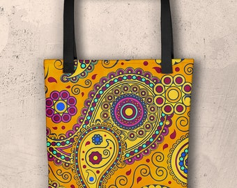 African Style No3, Tote bag