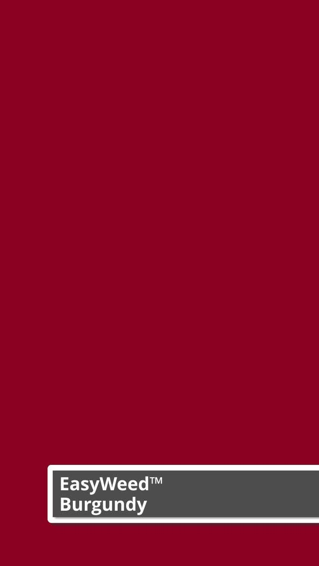 Burgundy Siser Easyweed Heat Transfer Vinyl 12 Quot X 15