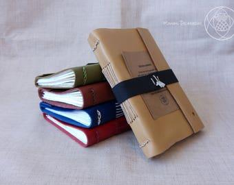 Handmade Travel Journal (SANDY YELLOW)
