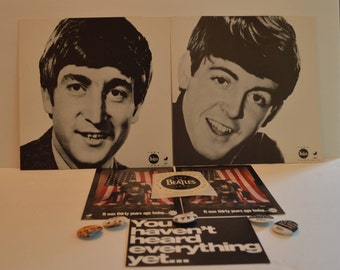 Lot of The Beatles Anthology Promotional Items!
