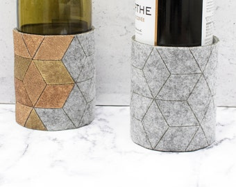 Cube Bottle Coaster - Different Colors