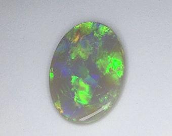 Genuine solid Australian opal, 13 carats Mintabie opal