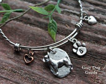 French Bulldog Bracelet, French Bulldog Jewelry, French Bulldog gift