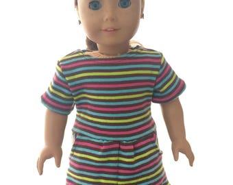 "Doll Tshirt Dress 18"" Doll"