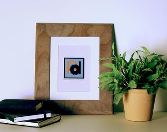 Premium Hanging Wood Picture Frame 8x10 inches