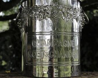 Superb Moët & Chandon advertising champagne bucket