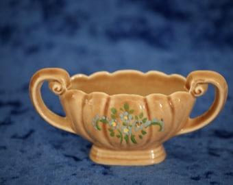 Wade Small Vase with Handles - Porcelain Ring Holder - Trinket Bowl