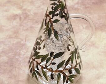 Triangular Olivet for Oil and Vinegar
