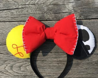 Jessie Inspired Minnie Mouse Ears