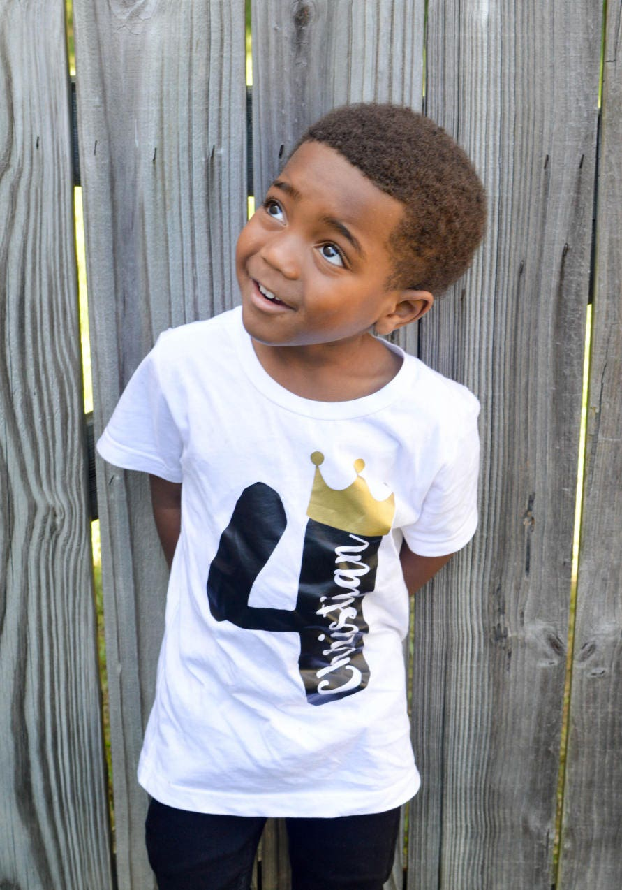 Birthday Boy Shirts For Toddlers