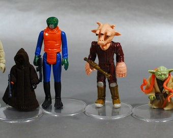 Pick 1 or More: Vintage Star Wars Complete Action Figures with Authentic Weapons by Kenner