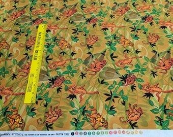 Safari Sunset Cotton Fabric from Elizabeth's Studio