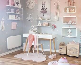 Cupcake pillow, Mint pillow, Kids room decor mint, Girls pillow, Baby shower gift, Nursery decor, Nursery pillow, Gift for kids, Pillow