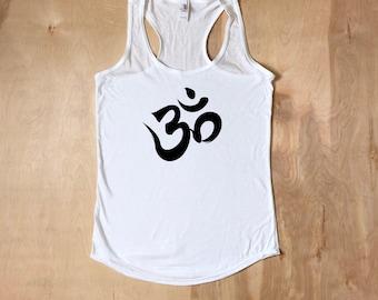 Yoga Shirt,Om Shirt,Yoga Shirt, Yoga Tank Top,Om Tank Top,Gifts for Her,Yoga Workout Tank Top,Yoga Shirts,Yoga Clothes,Fitness Apparel,Yoga