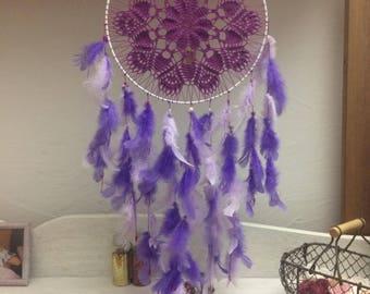 DreamCatcher is hand - Dream catcher purple