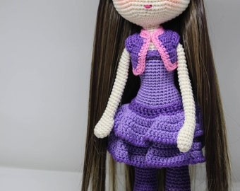 Crochet doll Areej from kottella Academy - cotton 100% - Amigurumi