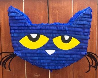 Pete the Cat Piñata,  Pete the Cat Party, Pete the Cat Birthday, Pete the Cat Pinata