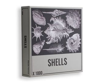 1000 Piece Jigsaw Puzzle: Cool Shells Jigsaw Puzzle for Adults!