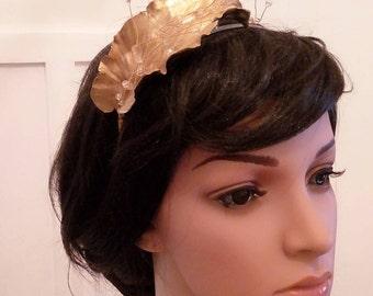 Diadema-Diadema leaf pen-vintage style-DIAdem of novia-tocados of novia-corona of flores-tocados - romantic style -