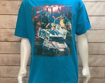 World of Outlaws 1997 Tour '97 Grapic T Shirt