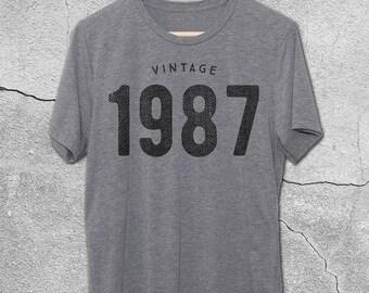 30th Birthday for Him & Her - 31st Birthday - Vintage 1987  / 1988 T-Shirt - 30th Birthday Shirt- Gift Ideas- Vintage tshirt -30th birthday