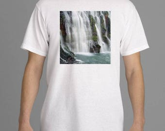 "Men's T-Shirt ""Burney Falls"""