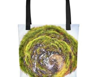 Tree of Life Druid Wicca Pagan Religious Spirituality Spiritual Christian Buddhist Tote bag