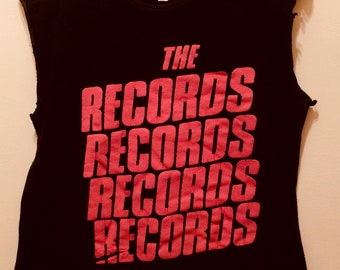 Records 1979 /English Power Pop Vintage T-Shirt Starry Eyes